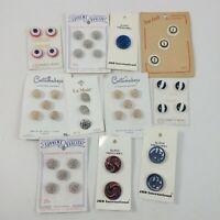 Button Lot Vintage Misc La Mode JHB International Costumakers Buttons Mixed Lot