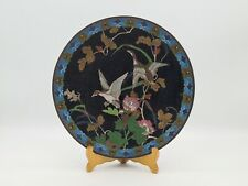 More details for 19th c japanese cloisonne charger meiji period 30.5 cm #3