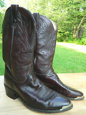 1990's Dan Post Western Boots / US Men size: 10 EW / Used / Made in the USA