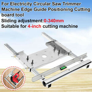 """4"""" Trimmer Electricity Machine Edge Guide Cutting Board Kit Woodworking Router."""