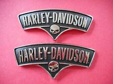 HARLEY DAVIDSON 2013 SOFTAIL CVO BREAKOUT FUEL TANK EMBLEM SET COLLECTIBLE