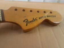 1972 FENDER MUSIC MASTER NECK - made in USA - fits MUSTANG