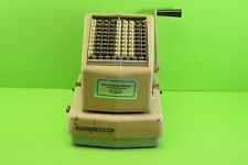 Burroughs Protectograph Chechwriter Model T70-9 TODD Division  1