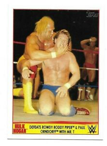 2015 Topps WWE Hulk Hogan Tribute Wrestling Card PIck