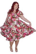 Summer Cotton Blend Casual Dresses for Women