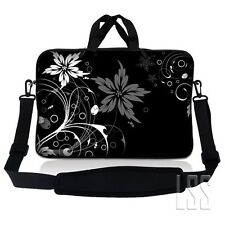 Neoprene Laptop Tablet Sleeve Case w/ Handle & Adjustable Shoulder Strap