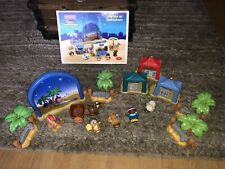 Little People Lot Christmas Nativity - Town Of Bethlehem- 3 Wise Men ETC. READ !