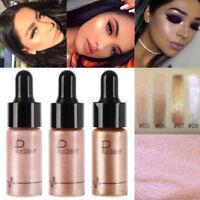 Hot Liquid Highlighter Shimmer Cream Face Highlight Glow Bronzer Facial Makeup
