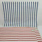Macys Summer Stock Placemats 4th July Red White Blue Striped Lot of 4 New
