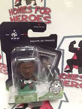 SOCCERSTARZ FRANCE PATRICE EVRA GREEN BASE SEALED IN BLISTER PACK