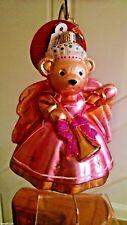 "Christopher Radko ""Baroque Muffy"" Ornament 1018316 Nwt Radko Box"