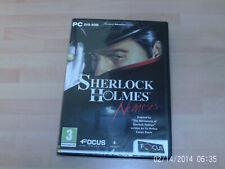 Sherlock Holmes Nemesis & Drácula el último santuario & Demonicon Nuevo y Sellado