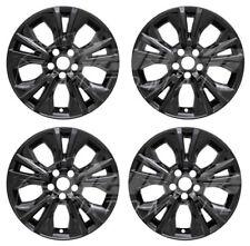 """18"""" Black Wheel Skins Hubcaps FOR 2014-2016 2017 2018 Toyota Highlander LE / XLE"""