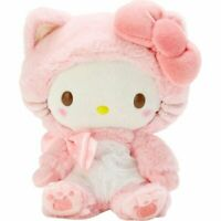 New Hello Kitty Plush Toy Gift Konekoneko Cat Pink Sanrio Original Authentic