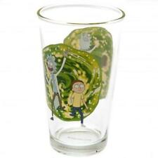 Rick And Morty Large Glass Official Merchandise