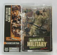McFarlane's Military Combat Soldier Marine Corps Recon Sniper Action Figure