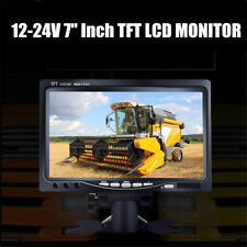 "7"" Car TFT LCD Color Screen Monitor for VCR Rear View Camera DVD Player Reverse"