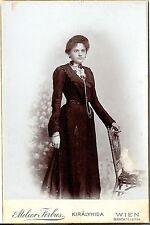 CAB photo Feine Dame - Wien 1900er