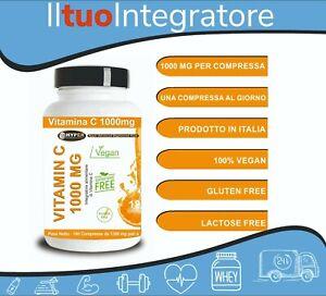 Vitamina C 1000 MG 360 compresse Fornitura X 1 Anno Sistema Immunitario