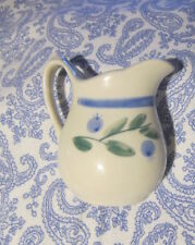 Sweet MAINE Estate 70s-80s?  CREAMER PITCHER Blueberry Design COUNTRY FARM style
