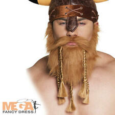 Boland 01847 Beard Viking Fancy Dress One Size Brown