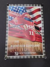 """Poster - 1991 Cleveland Grand Prix 27"""" x 19"""" Indy Car Auto Racing"""
