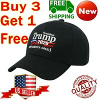 Donald Trump 2020 Hat Keep Make America Great Again Embroidered Cap Black KAG rr