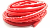 20 Feet Stinger Pro Series Red 4 Gauge AWG Pure Copper Power Wire OFC SPW14TR