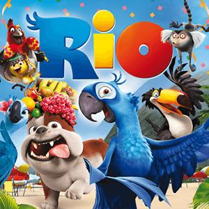 Rio (DVD, 2011) slipcase brand new free post!