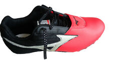 MIZUNO SPEED SPIKES 2005 TRACK & FIELD RED/BLACK BRAND NEW SIZE UK 9 EU 43
