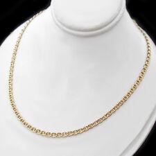 "24"" | 3.5mm MARINER Link 24k 14K Yellow GOLD GL Necklace | + LIFETIME GUARANTEE"