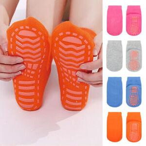 Kids Non-Slip Socks Breathable Silicone Yoga Anti-skid Fitness Floor Socks