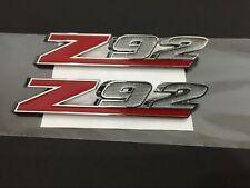 Chrome Red Z92 Emblem Badge - 1Pair