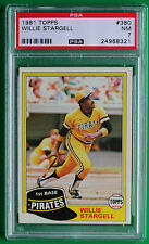 1981 Topps Willie Stargell #380 HOF NM - Pirates PSA 7