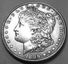 1896 CHOICE UNCIRCULATED MORGAN DOLLAR NEVER CLEANED OR DIPPED HARDLY ANY MARKS!