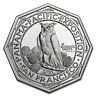 2 oz .999 FINE Silver High Relief Octagonal - Panama-Pacific - BACKORDER