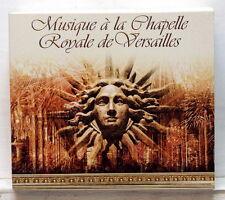 ROUSSET, MALGOIRE Musique à la Chapelle Royale de Versailles VIRGIN 5xCDs NM