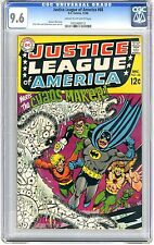 Justice League of America  #68  CGC  9.6  NM+   Cream to off - white pages 12/68