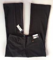 NWT Women's New York & Co. 7th Avenue City Stretch Flare Gray Dress Pants-Sz 2P