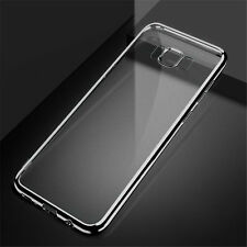 Thin Slim Silicone Clear Back Soft TPU Case Cover For Samsung Galaxy S8 S8 Plus