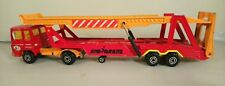 Majorette transportador de coche escala 1/60 - Majorette Transportador Raro