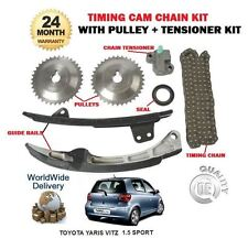 FOR TOYOTA YARIS VITZ VERSO 1.5 VVTI SPORT 1NZ-FE 2004-2005 TIMING CAM CHAIN KIT