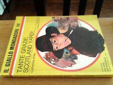 GIALLO MONDADORI # 1336-CATHERINE ARLEY-TANTE GRAZIE, SCOTLAND YARD !-1974