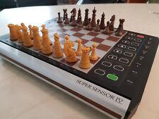 Schachcomputer Novag Super Sensory IV Top Zustand