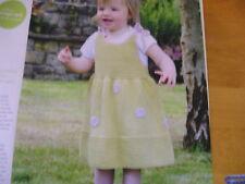 KNITTING PATTERN FOR BABY GIRLS DRESS.