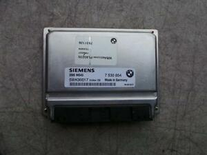 BMW 3 SERIES ENGINE ECU, E46, PART # 7530854  5WK90017 SIEMENS 325I  09/98-07/06