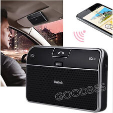 Car Kit Clip Hands free Wireless Bluetooth 4.0 Speakerphone Speaker For iphone