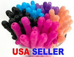 Bachelorette Party Penis Dick Drinking Straws Supplies Decorations Favors Hen