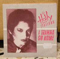 HOLLY AND THE ITALIANS - I WANNA GO HOME - FANZINE - vinile 45 giri NUOVO- PROMO