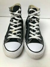 Converse All Star  mens/womens unisex black high top sneakers mens 7, women's 9